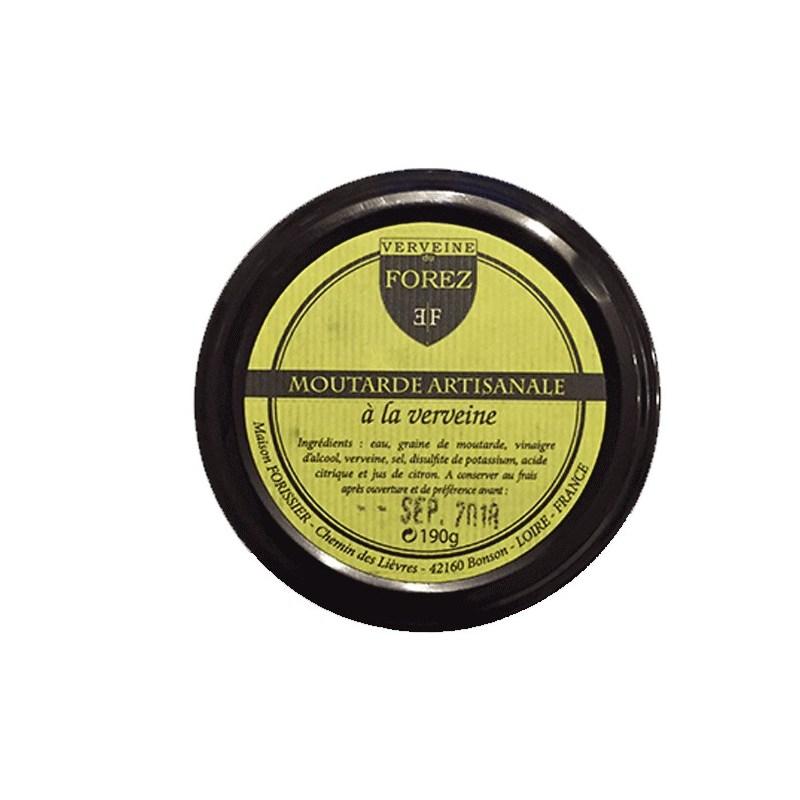 Moutarde artisanale à la Verveine